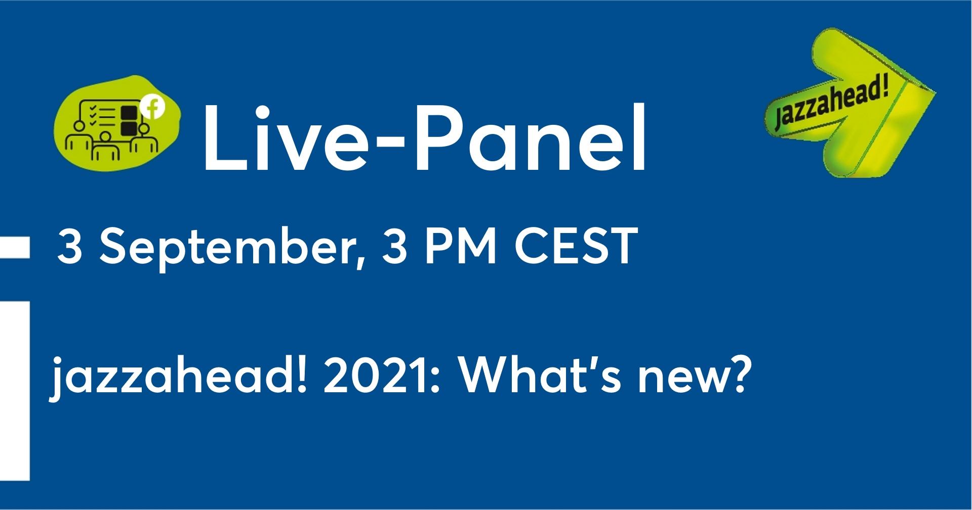 Facebook Header Veranstaltung Live-Panel